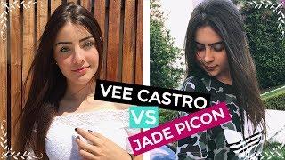 VEE CASTRO (VS) JADE PICON // DUELO DE FOTOS ♥ 2017