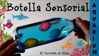 Botella Sensorial con peces, Aquarium infaltil, Cómo Reciclar Botellas de Plástico