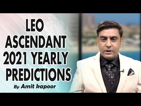 Leo Ascendant 2021 YEARLY PREDICTIONS [ IN ENGLISH & HINDI ] #ASTROLOGERAMITKAPOOR