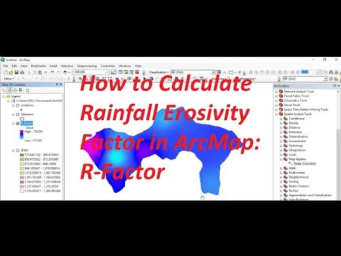 Download How To Calculate Rainfall Erosivity Factor In