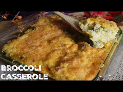 How To Make Thanksgiving Side broccoli Casserole