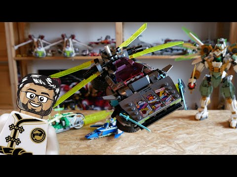 Vidéo LEGO Ninjago 71710 : La voiture ninja