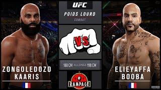 BOOBA VS KAARIS COMBAT DANS L' OCTOGONE !! ON ATTEND LA DATE (MMA   UFC SIMULATION)