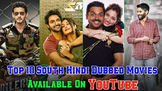Top 10 South Hindi Dubbed Movies Available On YouTube    Part-106    Filmytalks   