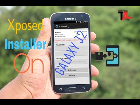 How To Install Xposed Installer In Galaxy J2 [Easy Way] - Aminul