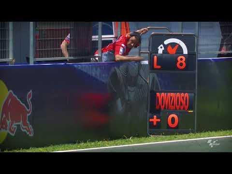 2018 Spanish GP - Ducati in action