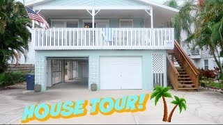 OUR BEAUTIFUL ISLAND BEACH HOUSE TOUR!! | VACATION REVEAL!