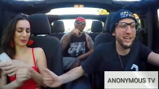 Eminem Of Uber Drivers   Fast Rapping Uber Driver Surprises Customer
