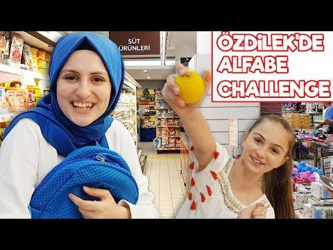 ALFABE CHALLENGE , Özdilek de Alfabe Eşya Bulma Oyunu !!