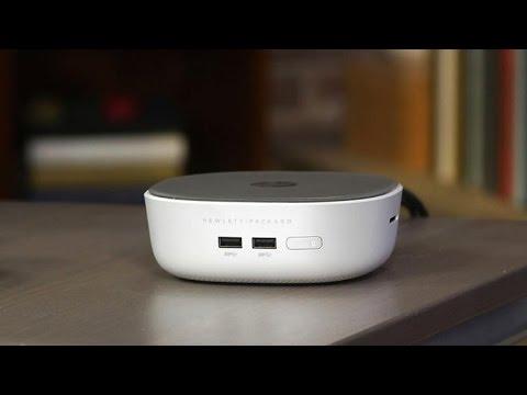 HP's new Mini desktop packs big storage