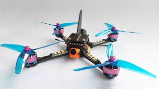 Racing Drone and Launch Pad from Racing Carbon Components