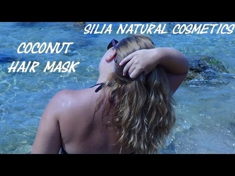 Μάσκα μαλλιών με καρύδα
