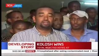 Jubilee's Ahmed Kolosh wins Wajir west polls as KANU'S Ibrahim Sheikh concedes