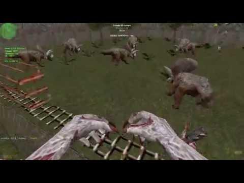 Counter-Strike: Zombie Escape Mod - ze_Jurassicpark_v2 on ProGaming