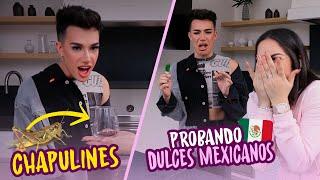 LE DI DULCES MEXICANOS A JAMES CHARLES 🤣 (reacción) Probando dulces mexicanos 🇲🇽Kimberly Loaiza