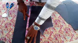 How to cut a SIX PIECES DRESS( basic 6 pieces dress cutting)|[DETAILED]