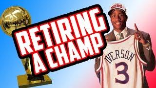 GETTING ALLEN IVERSON A RING! Retiring A Champ #3 NBA 2K17 My League