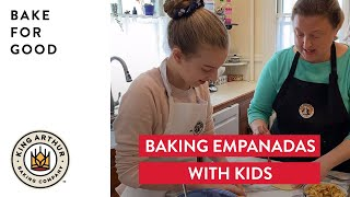 Baking Empanadas with Kids - Bake For Good