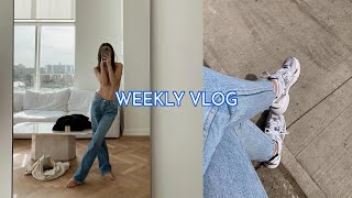 WEEKLY VLOG | self tan routine + cooking with legs