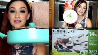 Green Life Cookware 14 Piece Set Unboxing!