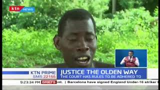 Traditional courts in Kilifi County where a council of elders determines cases
