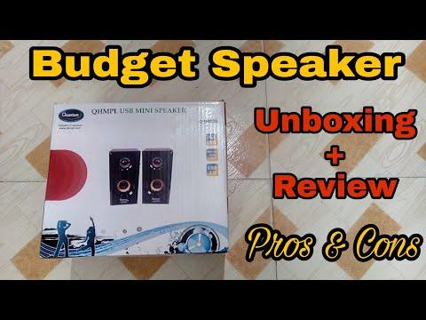 Quantum USB Mini Speaker   Unboxing and Quick Review   Technical Jatin