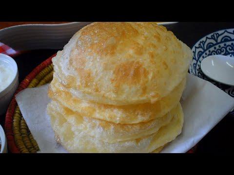 Poori Recipe Bazar Jesi- Perfect round, puffy and Soft puri Recipe - Weekend Breakfast Special