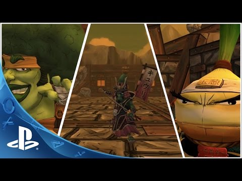Yasai Ninja Trailer | PS4 thumbnail