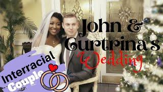 👰Interracial Wedding💍 | John And Curtrinas Wedding Reception | Winter Wedding