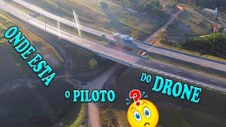 PILOTO de DRONE escondido VOANDO wanzam fpv