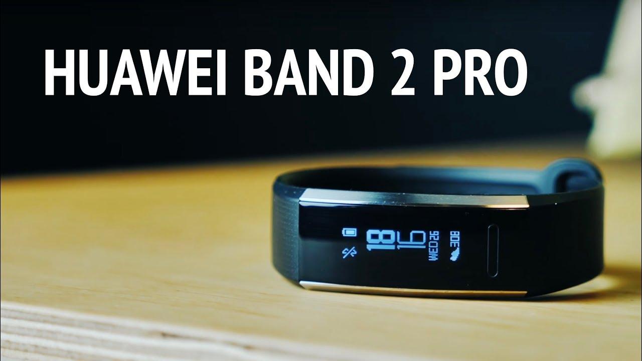 Фитнес-трекер Huawei 2 Pro (Black) video preview