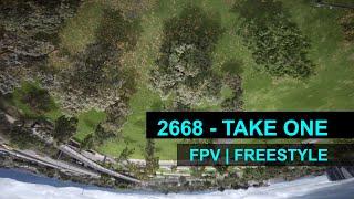 FPV // Freestyle // 2668 - Take 1 // Bogota - Colombia