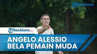Pelatih Angelo Alessio Bela Para Pemain Muda seusai Persija Alami Kekalahan Perdana dari Arema