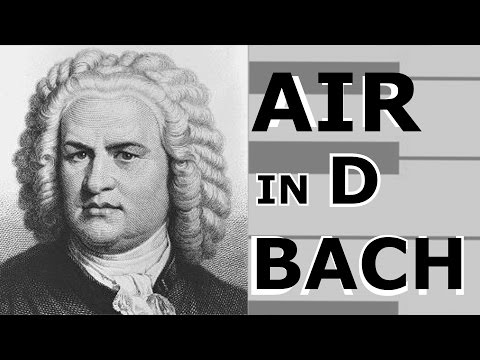 Bach AIR from suite/Бах AIR из сюиты №3
