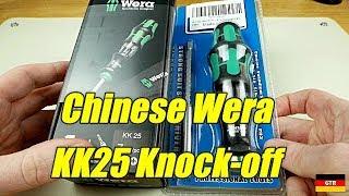 Wera KK25 Knock-Off