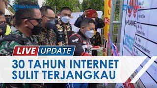 30 Tahun Warga Desa Ondo-Ondolu Tak Terjangkau Jaringan Komunikasi & Internet, Bupati Bangun Menara
