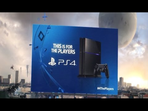 The PlayStation 4's Launch Ad Is Pretty Shouty