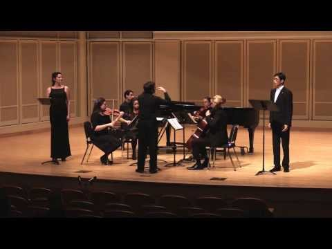 My composition, Song of Solomon, for Mezzo-Soprano, Tenor, and Piano Quintet