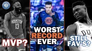 James Harden MVP? | New York Knicks Franchise Worse Record? | Is Duke Still the Favorite?