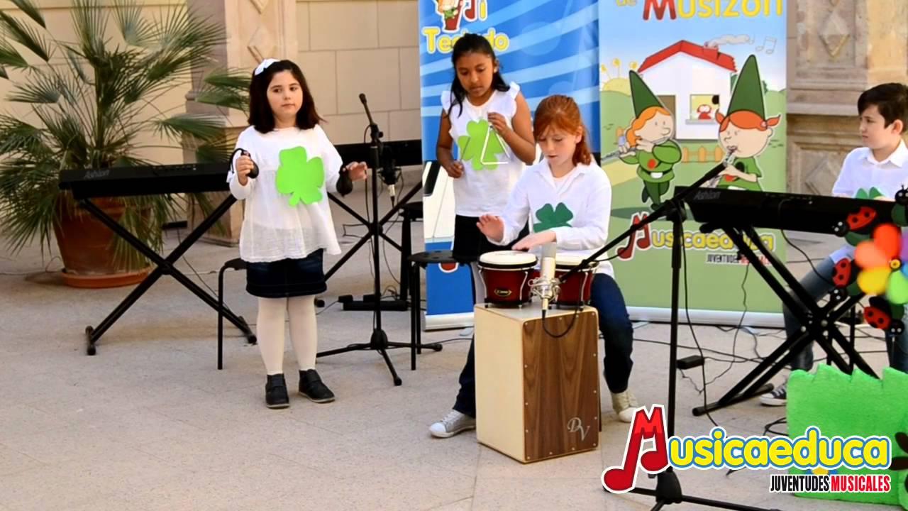 El juego de San Patricio - Alumnos de Depiano 1 y Percubón 2 - Escuela de Música Albéniz de Lorca