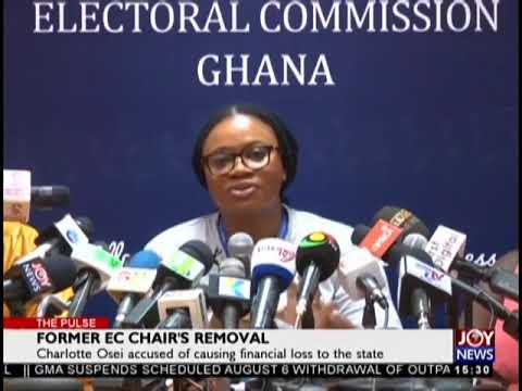 Former EC Chair's Removal - The Pulse on JoyNews (6-8-18)