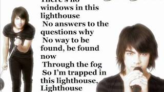 Joe Jonas Lighthouse Lyrics On Screen