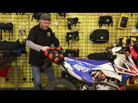 Easy Removal of a loaded E-Base by Wolfman Motorcycle Luggage