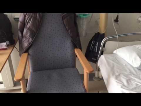 My cabin in Bristol university hospital