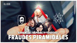 """ESPECIAL FRAUDES PIRAMIDALES (intro): Ganancias rápidas y """"jugosas"""""""