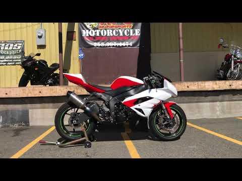 2011 Kawasaki Ninja® ZX™-6R in Auburn, Washington - Video 1