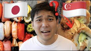 【あるある】日本とシンガポールの衝撃的な寿司屋の違い