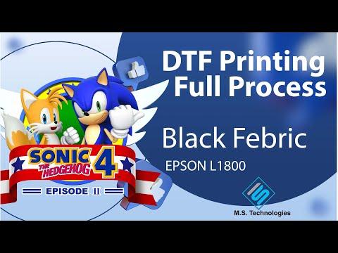 Digital Printing Direct to Garment