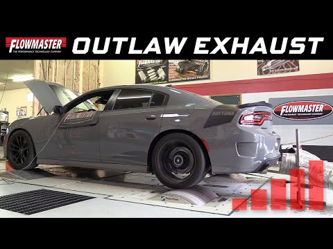 2017-19 Charger R/T & Daytona 5.7L - Outlaw Cat-back Exhaust System 817845