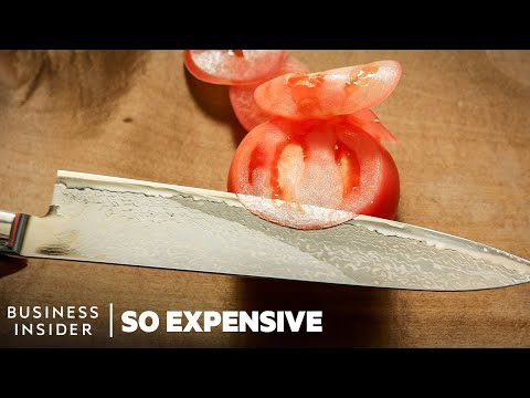 A Japanese Chef's Knife Could Cost $900, Here's Why